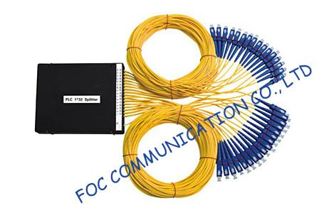 Low Loss Fttx 1× 32 Fiber Plc Splitter For Optical Signal Distribution Systems