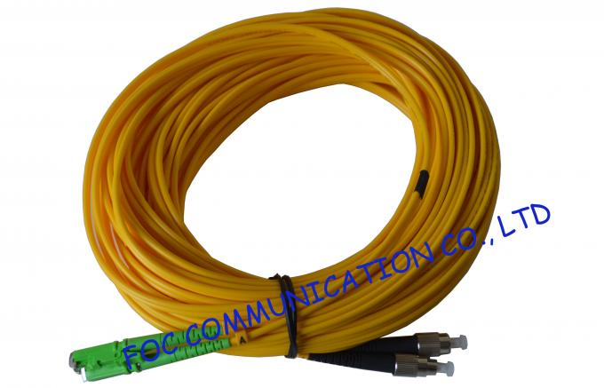 Ribbon Fan Out MPO Multimode Fiber Optic Patch Cord Assembly FTTX 0