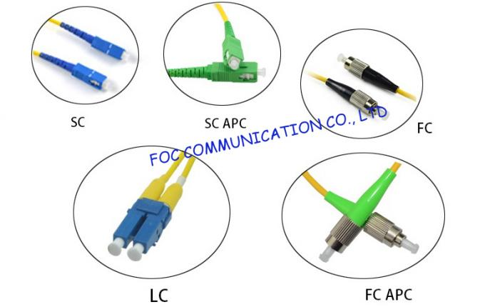 Simplex or Duplex SC Optical Fiber Pigtail with FTTH Indoor Cable High Stability