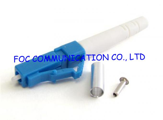 Networks LC SM Fiber Optic Connector Stable with Plastic Housing