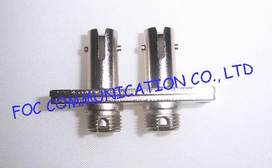 SC - FC , FC - ST Hybrid Plastic Fiber Optic Cable Adapter Multimode For Testing Instruments