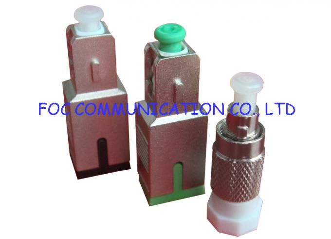 SC / APC Fiber Optic Attenuator 0dB to 25dB / single mode fiber attenuator