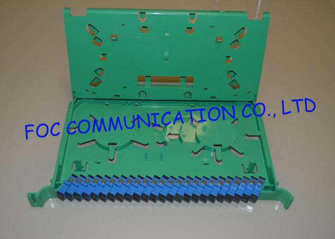 Fiber Optic Splice Module Compact Design for Storaging Adapters and Pigtails