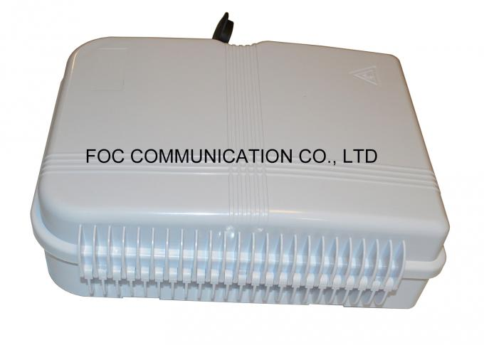 Fiber Splitter Termination Box 24 Core Fiber Optic Patch Panel With 1x16 PLC Blockless
