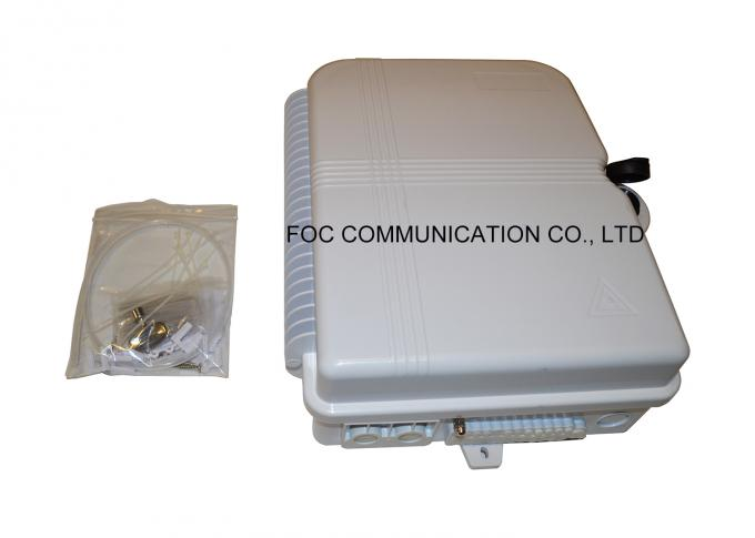Outdoor Fiber Terminal Box 24 Core With 1:16 PLC Cassette Type Using For FTTX