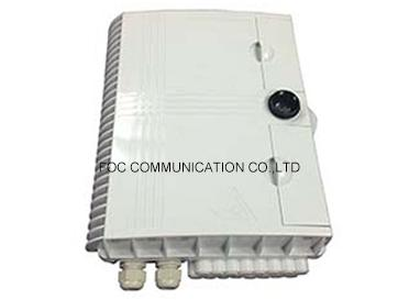 Indoor / Outdoor Distribution Box ABS Housing For Optical Splitter Module