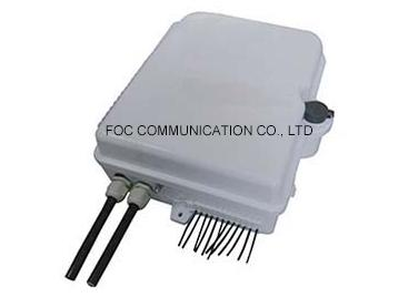 Waterproof IP65 Cable Termination Box 24 Core Pigtails And Adapters For FTTH