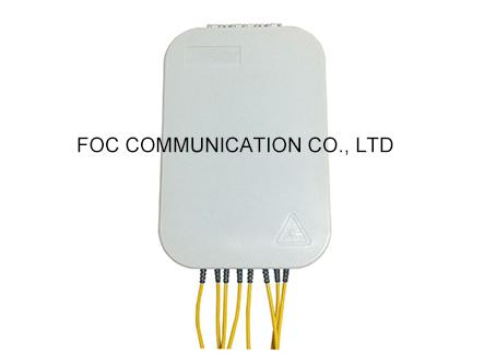 SC Simplex Fiber Optic Termination Box Enclosed Structure For Local Area Networks 0