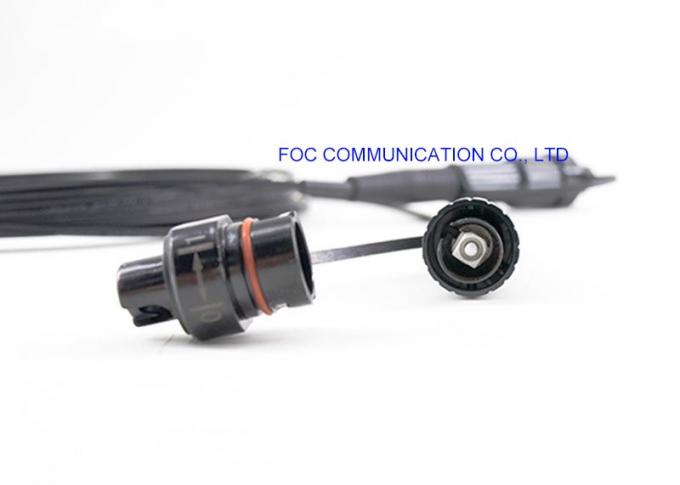0.3dB Insertion Loss Fiber Optic Patch Cord Non Armored / Armored RoHS Compliant