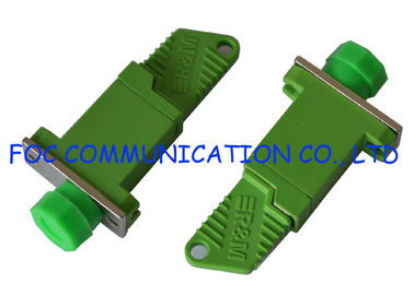 China Low Insertion Loss Fiber Optic Adapter E2000 / APC - FC / APC Hybrid Adapter supplier