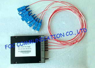 China MUX / DEMUX Wavelength Division Multiplexer Module For Telecom Networks , High Stability supplier