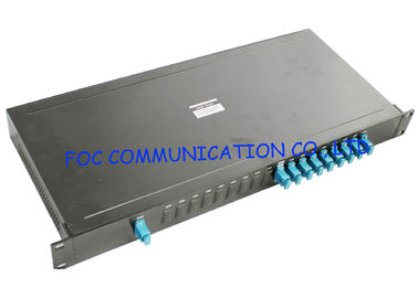"China Fiber Networks 19"" Rack Mount CWDM Module 8 + 1 Type With SC Connectors supplier"