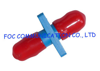 China ST Simplex Fiber Optic Adapter Plastic Housing Zirconia Ceramic Sleeve Low Loss supplier