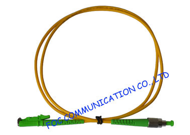 China Telecoms Fiber Optic Patch Cord , Durable FC / APC to E2000 / APC Corning Fiber supplier