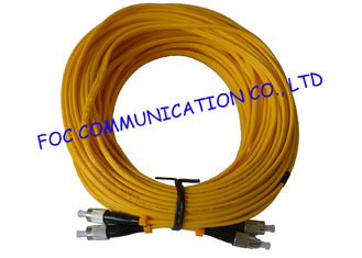 China FC / UPC G.655 Duplex Fiber Optic patch cord single mode High Stability supplier