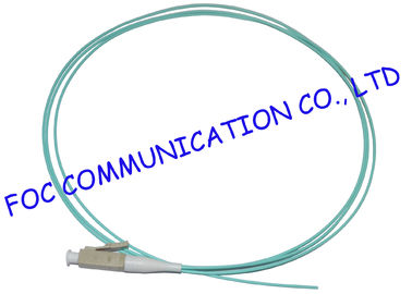China 1M OM3 10G Fiber Optic Pigtail 0.9mm 1.6mm 2.0mm 2.4mm 3.0mm Easy Operation supplier