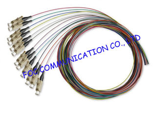 China 0.9mm LSZH Jacket 1.5M Multimode Pigtail LC Connector For CATV and WAN supplier