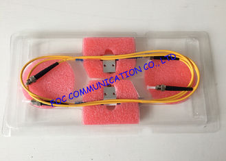 China Wideband ST SM fiber optic variable attenuator 1310 / 1550nm Wide Attenuation Value supplier