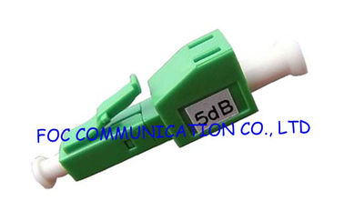 China Fiber  Optic Attenuator LC / UPC 5dB High Precision Attenuation Value For FTTH supplier