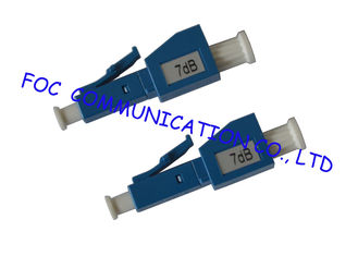 China LC Fiber Optic Attenuator Male To Female Variable Optical Attenuator supplier