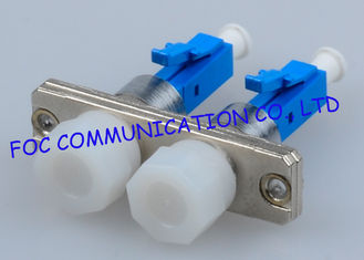 China Multimode Male To Female Fiber Optic Adapter Hybrid LC - FC And LC To ST supplier
