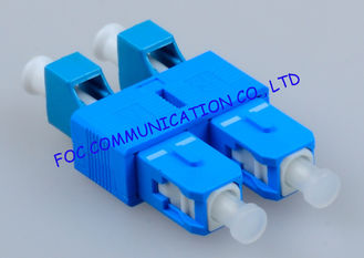 China Hybrid SC - LC Fiber Optic Adapter , Telecom Network Male To Female Adapter supplier