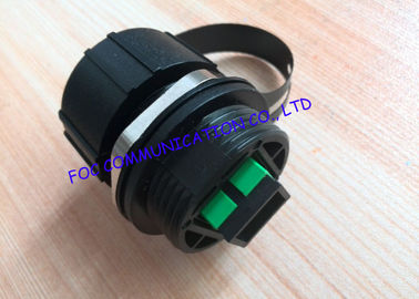 China ODVA Socket IP67 Waterproof SC / APC Cable Fiber Optic FTTA Use UV Resistent supplier