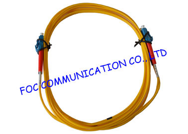 China Duplex 2.0mm fiber optic patch cord lc lc For FTTH , Low Insertion Loss supplier