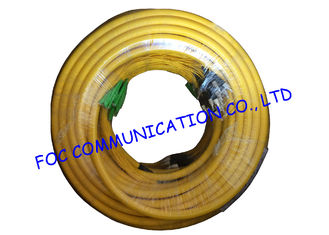 China Indoor custom 24 Core Breakout Fiber Network Cable FC / UPC - E2000 / APC SM G.652D supplier