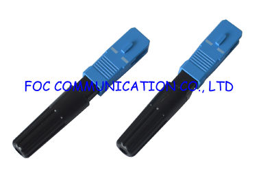China Fast SC / UPC Fiber Optic Cable Connectors Quick and Easy Termination supplier
