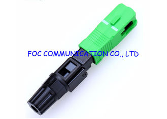China SC SM APC Field Installable Connector For Optical Cable Interconnection supplier
