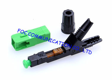 China Field Installable Fiber Optic Connector SC APC Pre - embedded Type supplier