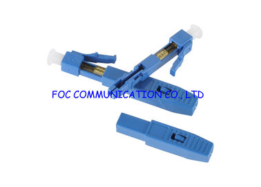 China Fast Field Fiber Optic Connector LC Plastic Housing Quick And Easy Fiber Termination supplier