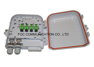China Fiber Splitter Termination Box 12 Core Loaded With 1x8 PLC Blockless supplier