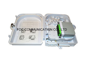 China Outdoor Fiber Terminal Box 24 Core With 1:16 PLC Cassette Type Using For FTTX supplier