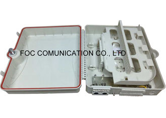 China FTTH Optical Fiber Distribution Box / Outdoor Cable Enclosure Box ISO RoHS Listed supplier