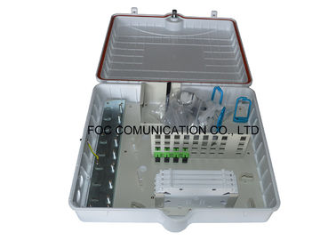 China Anti - UV / Waterproof Outdoor Distribution Box For Data Communications Networks supplier