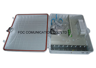 China Indoor / Outdoor Fiber Optic Termination Box High Resistance With 96 Core supplier