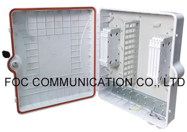 China 96 Core Wall / Pole Mount Outdoor Fiber Enclosure For Connection And Protection supplier