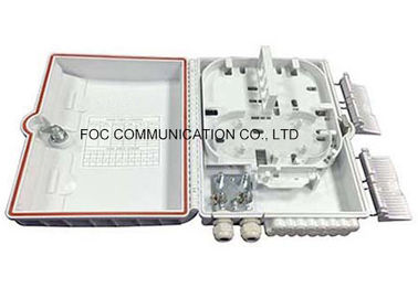 China Indoor / Outdoor Distribution Box ABS Housing For Optical Splitter Module supplier