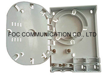 China Optical Indoor Distribution Box , 4 Port FTTH Termination Box For Military Industry supplier