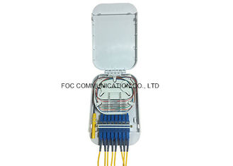 China SC Simplex Fiber Optic Termination Box Enclosed Structure For Local Area Networks supplier