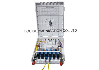 China Outdoor Fiber Optic Termination Box Enclosure 24 Fiber For Telecommunication Networks supplier