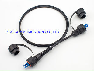 China FTTA Cable Assemblies Fiber Optic Patch Cord LC/UPC With ODVA Connectors TPU Jacket supplier