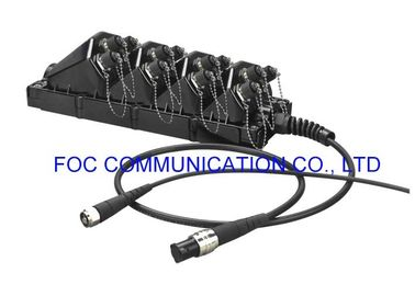 China High Resistant Network Termination Box FTTx Enclosure With ODC / PTLC Connector supplier