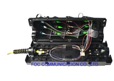China PLC Splitter Fiber Optic Termination Box IP68 Waterproof Easy Installed Pole / Wall Mount supplier