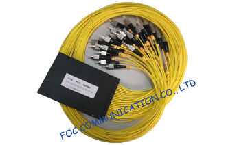 China Low Loss Fttx 1× 32 Fiber Plc Splitter For Optical Signal Distribution Systems supplier