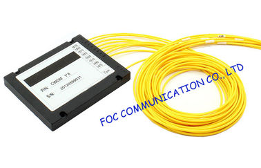 China Fiber Optic WDM Wavelength Division Multiplexer Wide Operating Wavelength Range supplier