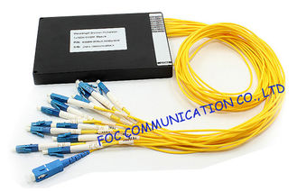 China High Channel Isolation WDM SC / UPC Connector for Fiber Optical Amplifier supplier