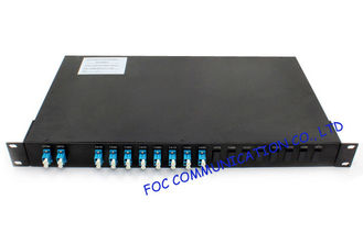 China Rack Mount Wavelength Division Fiber Optic Multiplexer 1310 / 1550nm , High Channel Isolation supplier